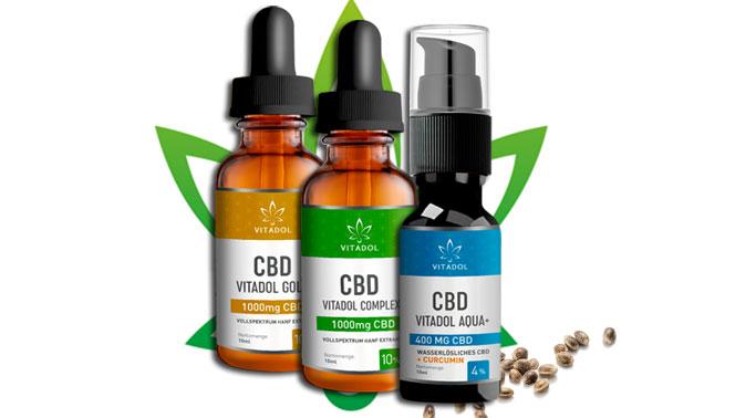 Vitadol CBD Produkte