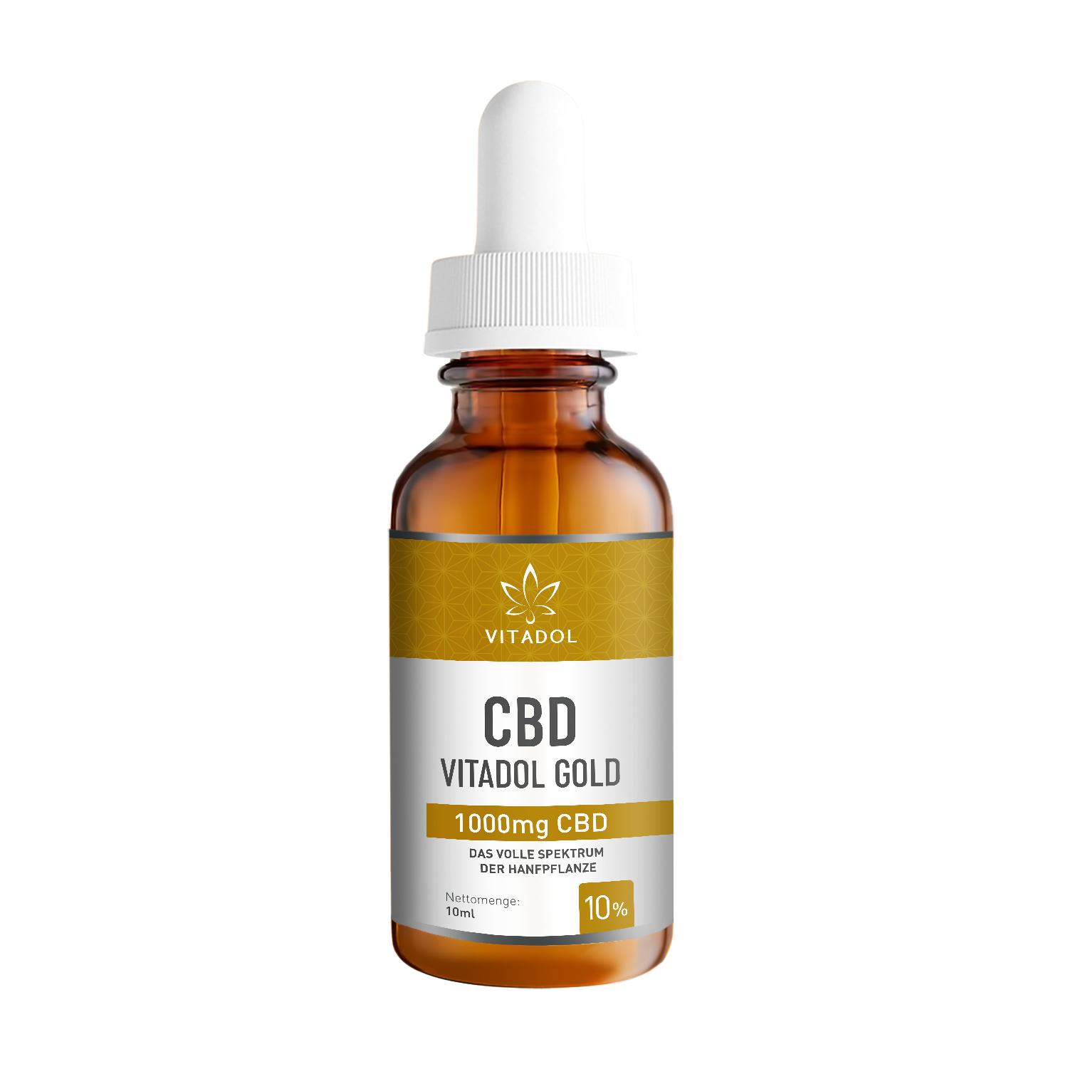 Vitadol Gold CBD Öl