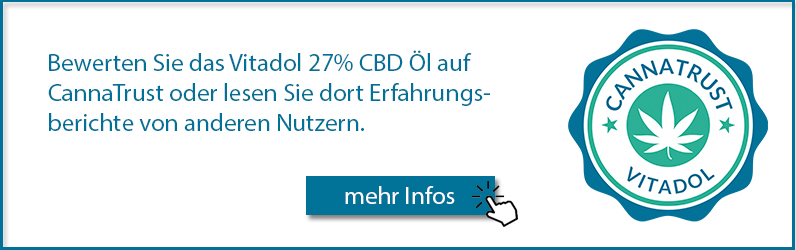 Das Vitadol Gold 27% auf Cannatrust bewerben