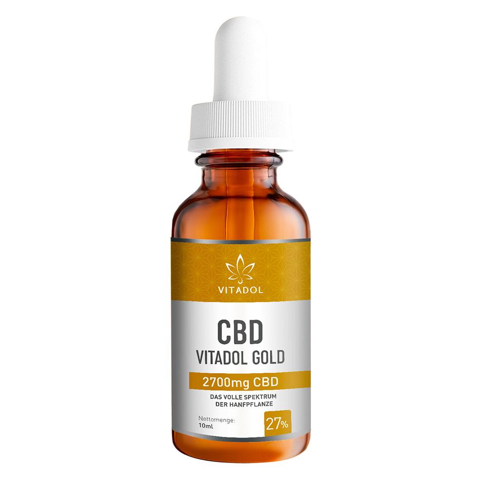 Vitadol Gold 27% CBD Öl