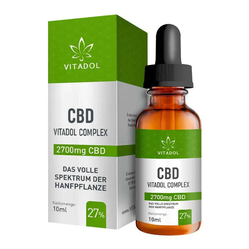 CBD Hanföl Vitadol Complex 27%